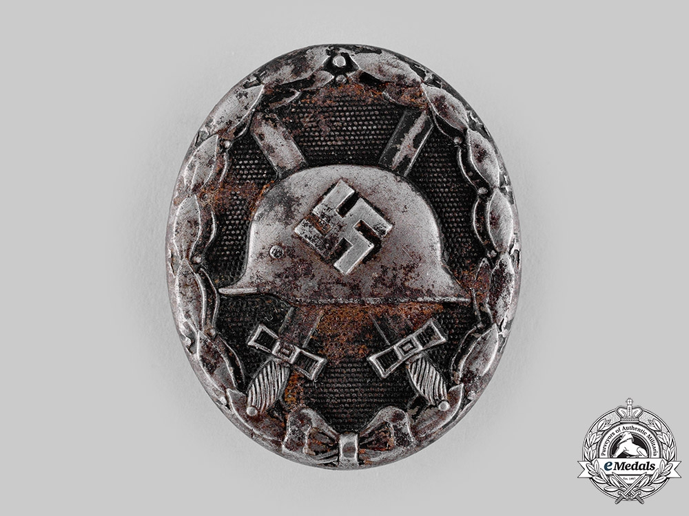 eMedals-Germany, Wehrmacht. A Wound Badge, Black Grade