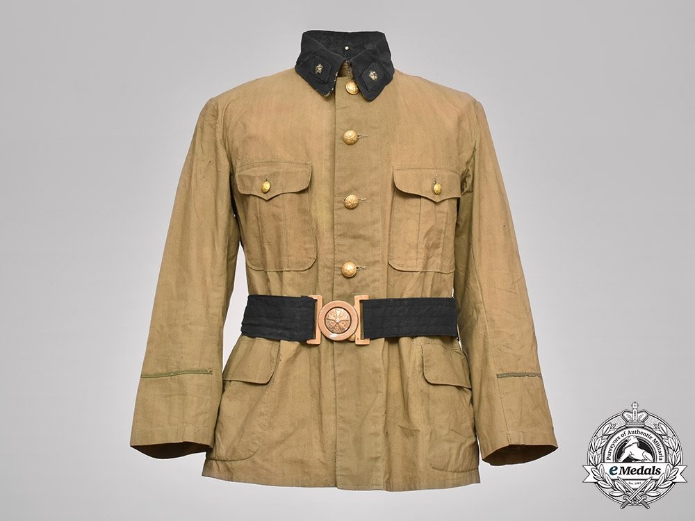 eMedals-Japan, Imperial. An Army Enlisted Man's Tunic