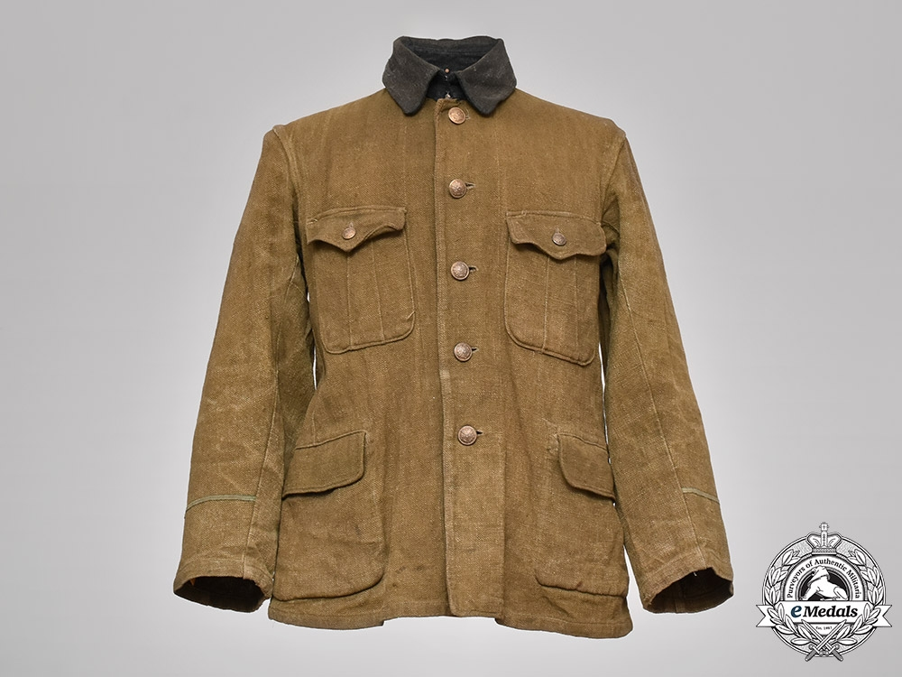 eMedals-Japan, Imperial. An Army EM/NCO's M98 Tunic
