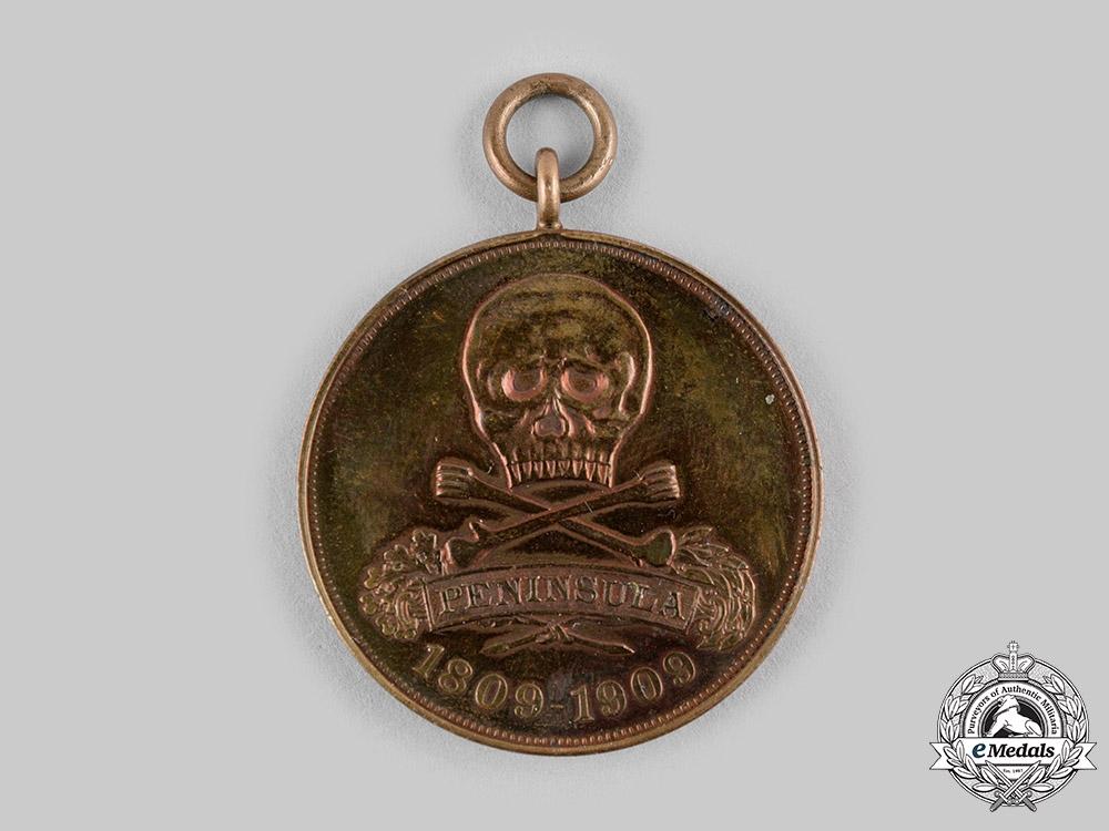 eMedals-Germany, Imperial. A Braunschweig Peninsula War Centenary Medal