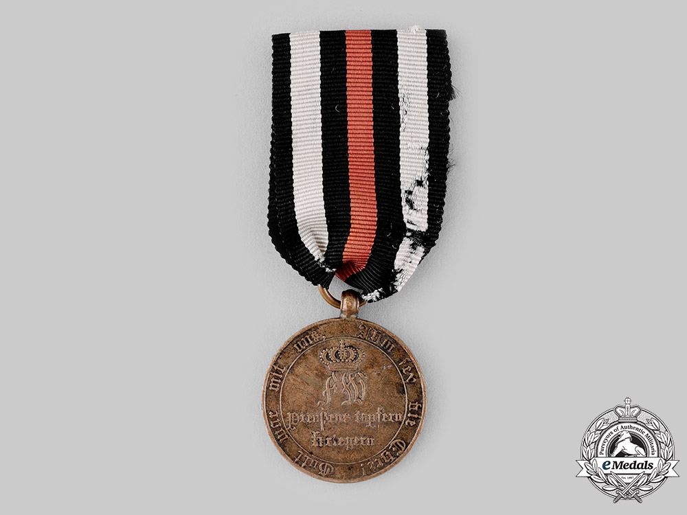 eMedals-Prussia, Kingdom. A War Commemorative Medal for Fighters 1813/1814