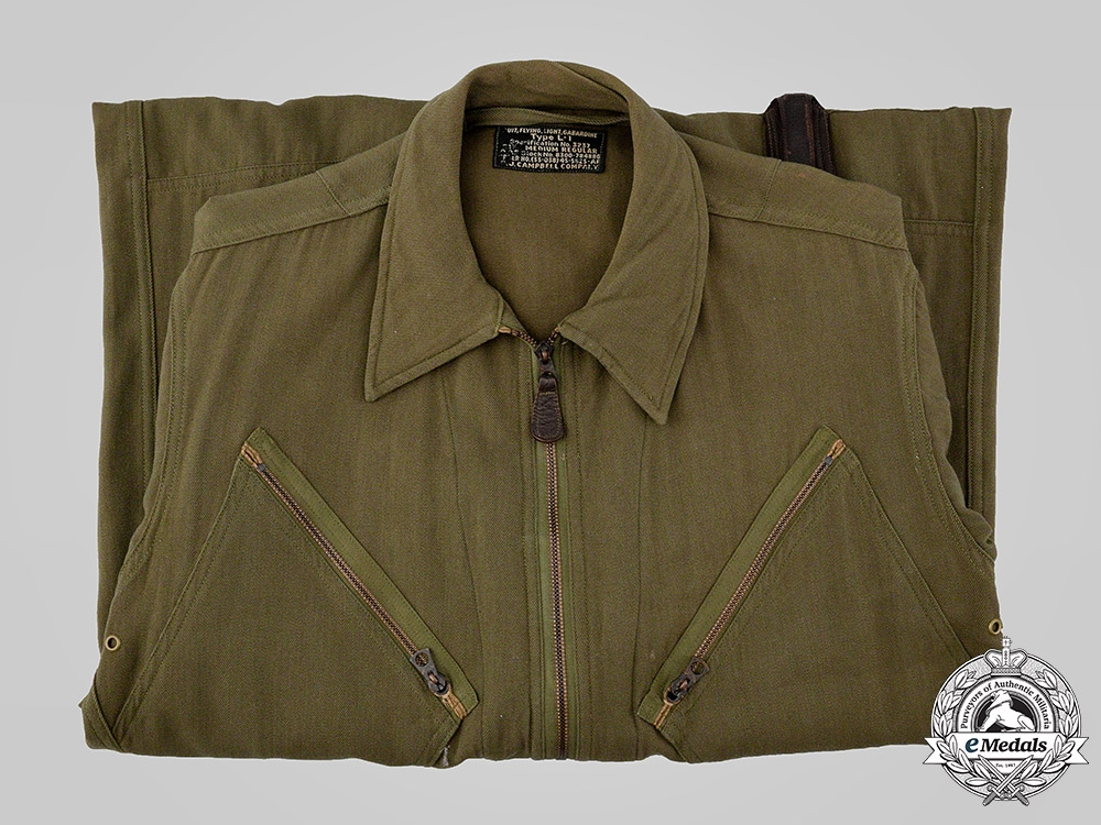 eMedals-United States. A United States Army Air Forces (USAAF) L-1 Flight Suit by S.J. Campbell Company