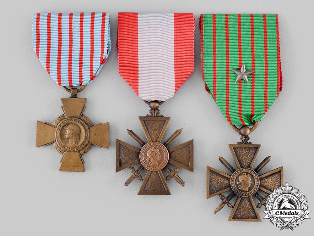 eMedals-France, III Republic. Three Crosses
