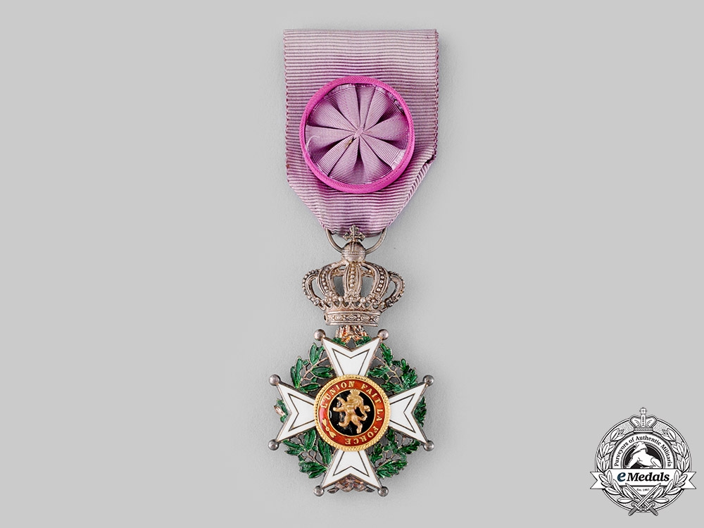 eMedals-Belgium, Kingdom. An Order of Leopold, IV Class Officer, c.1920