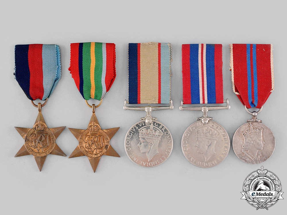 eMedals-Australia, Dominion. A Pacific Campaign Medal Group, Australian Imperial Force