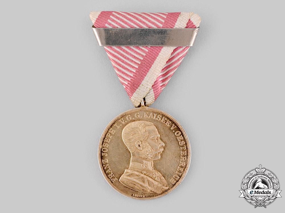 eMedals-Austria, Empire. A Gold Bravery Medal, Second Award, c.1916