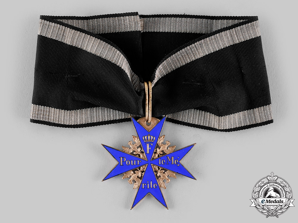 eMedals-Prussia, Kingdom. A Pour-le-Mérite (Collectors Copy)