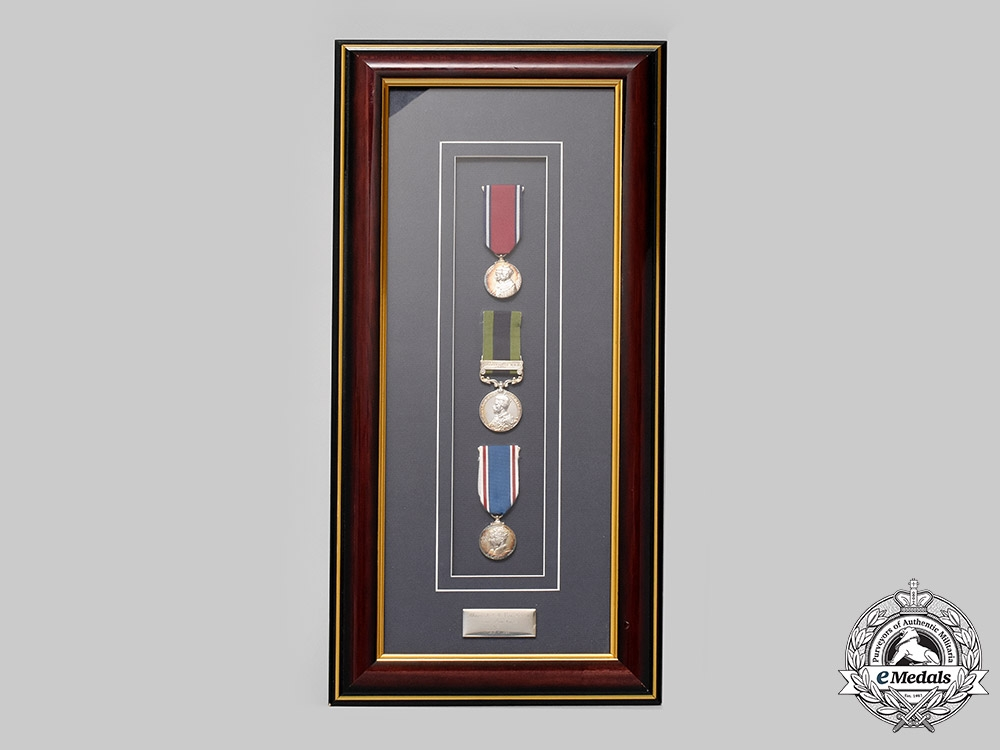 eMedals-United Kingdom. An India Service Group of Three, to Major James Rudolph Douglas Van Renen, King's Own Rifles, 69th Punjabis
