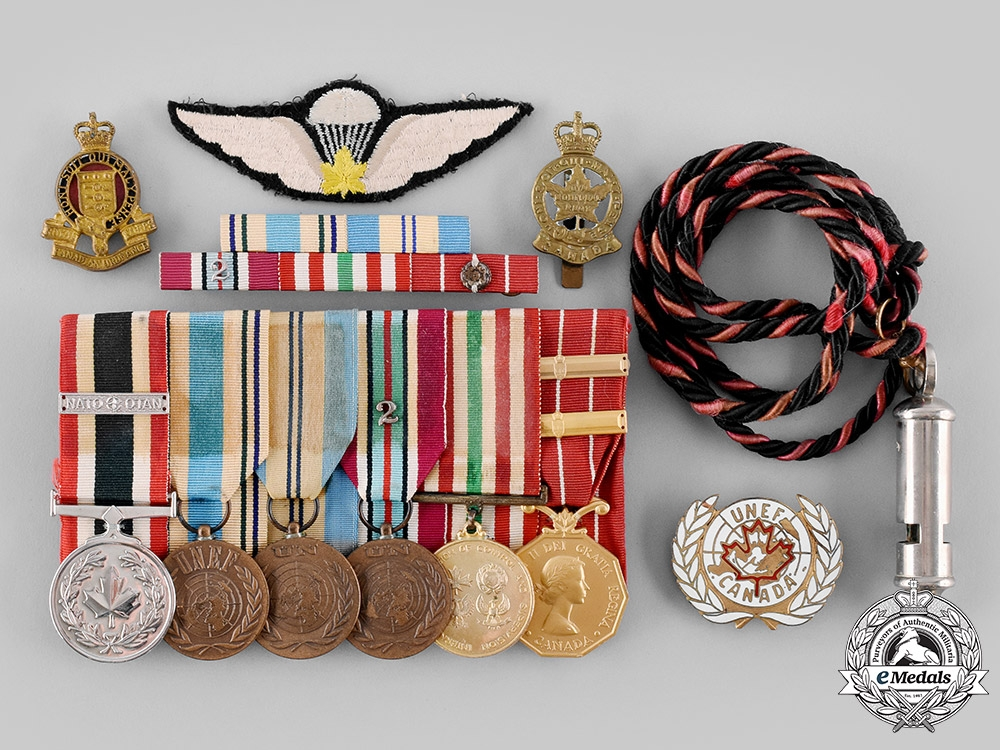 eMedals-Canada, Commonwealth. A Fine Modern Peacekeeping Service Group to Captain G.A. Williams