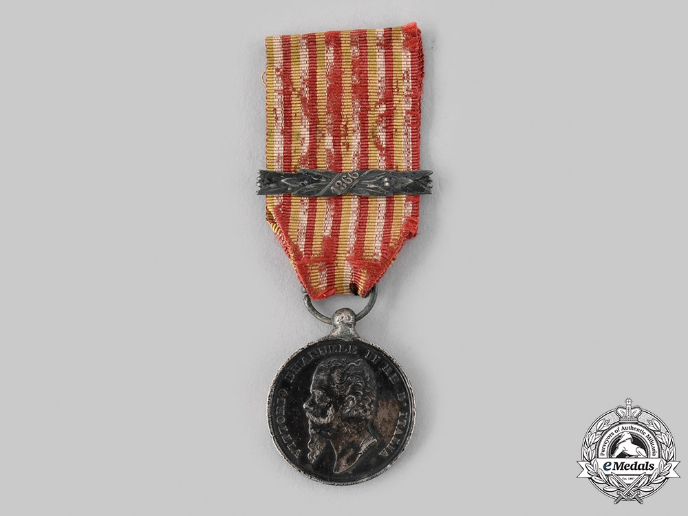 eMedals-Italy, Kingdom. A Medal for the Wars of Independence and the Unity of Italy, by Canzani, c.1866