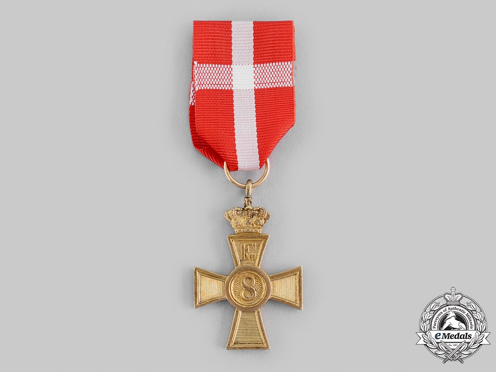 eMedals-Danish, Kingdom. A Long Service Decoration for N.C.O., c.1900