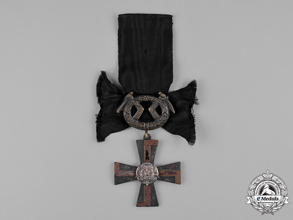 eMedals-Finland, Republic. An Order of the Cross of Liberty, Mourning Cross