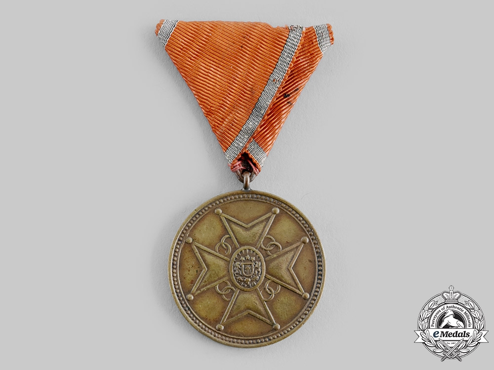 eMedals-Latvia, Republic. A Cross of Recognition, III Class Bronze Grade Medal, c.1940