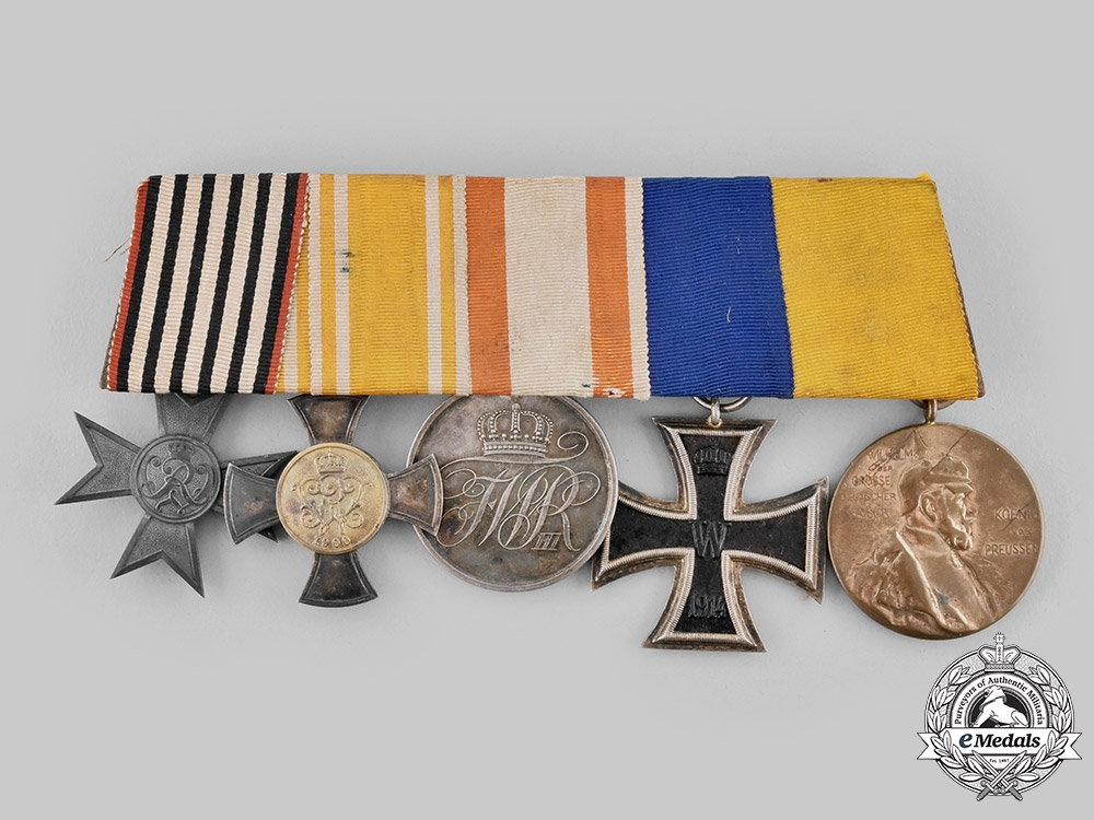 eMedals-Germany, Imperial. An Extensive Medal Bar