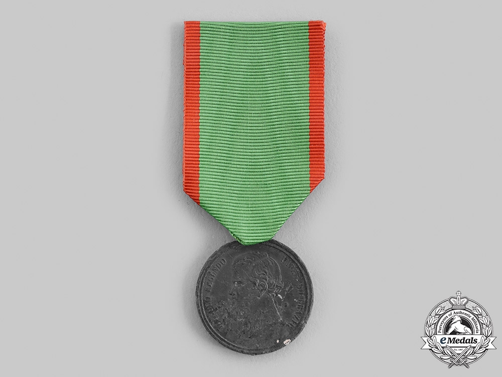 eMedals-Brazil, Empire. A Medal for the Uruguay Campaign 1852, III Class Zinc Grade for Enlisted Men