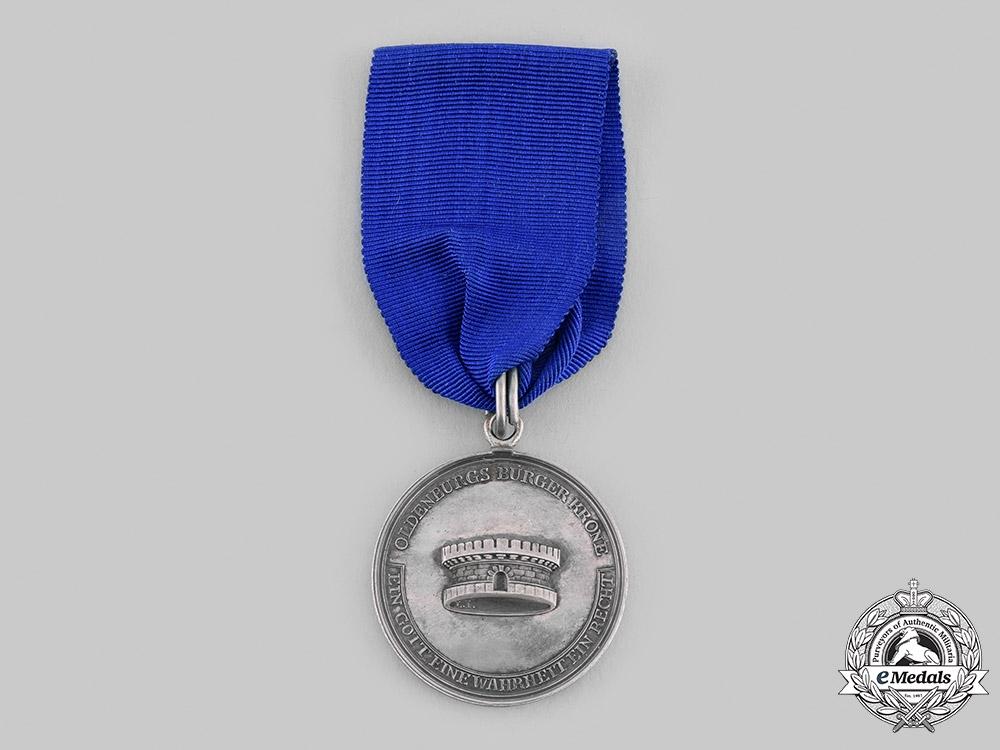 eMedals-Oldenburg, Grand Duchy. A Rare Civil Merit Medal, Silver Grade, c.1814