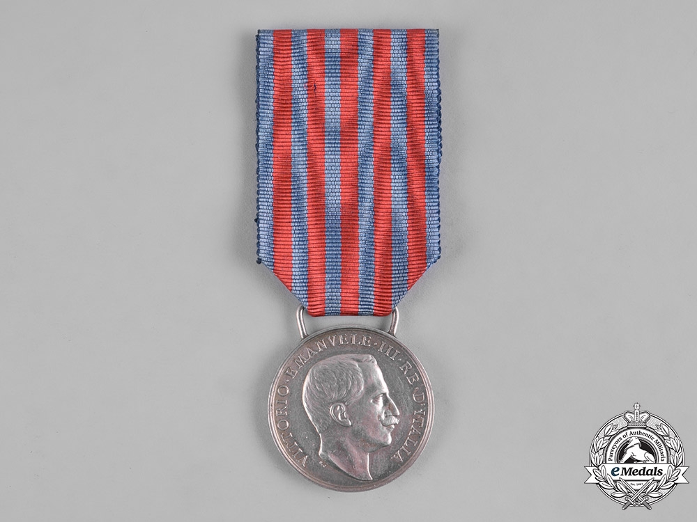 eMedals-Italy, Kingdom. A Medal for the Italian-Turkish War 1911-1912