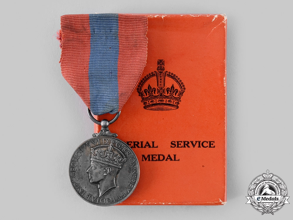 eMedals-United Kingdom. An Imperial Service Medal, to Charles Thomas Cowell