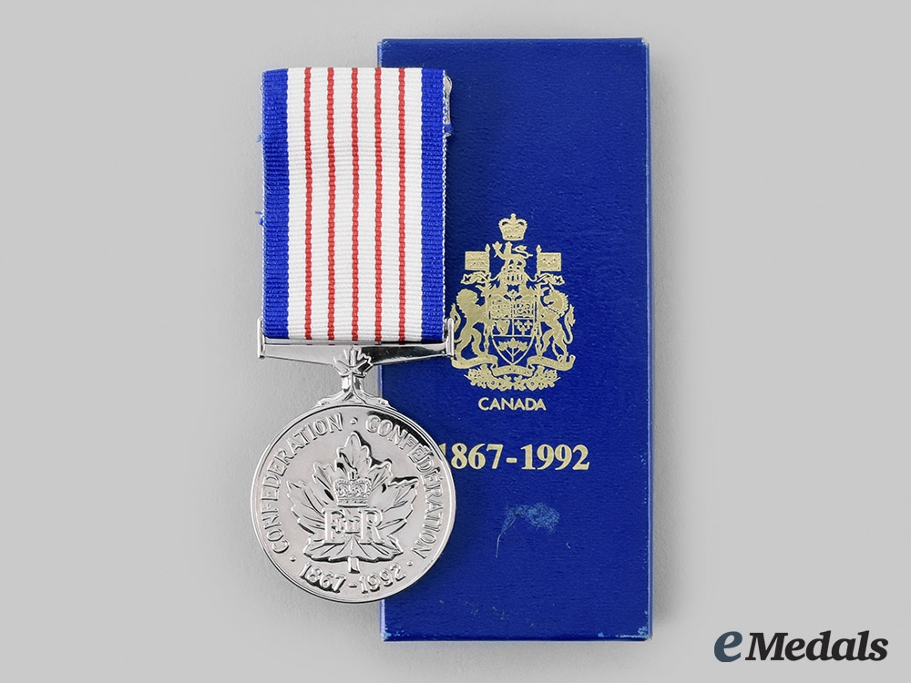 eMedals-Canada, Commonwealth. A 125th Anniversary of Confederation Medal 1867-1992