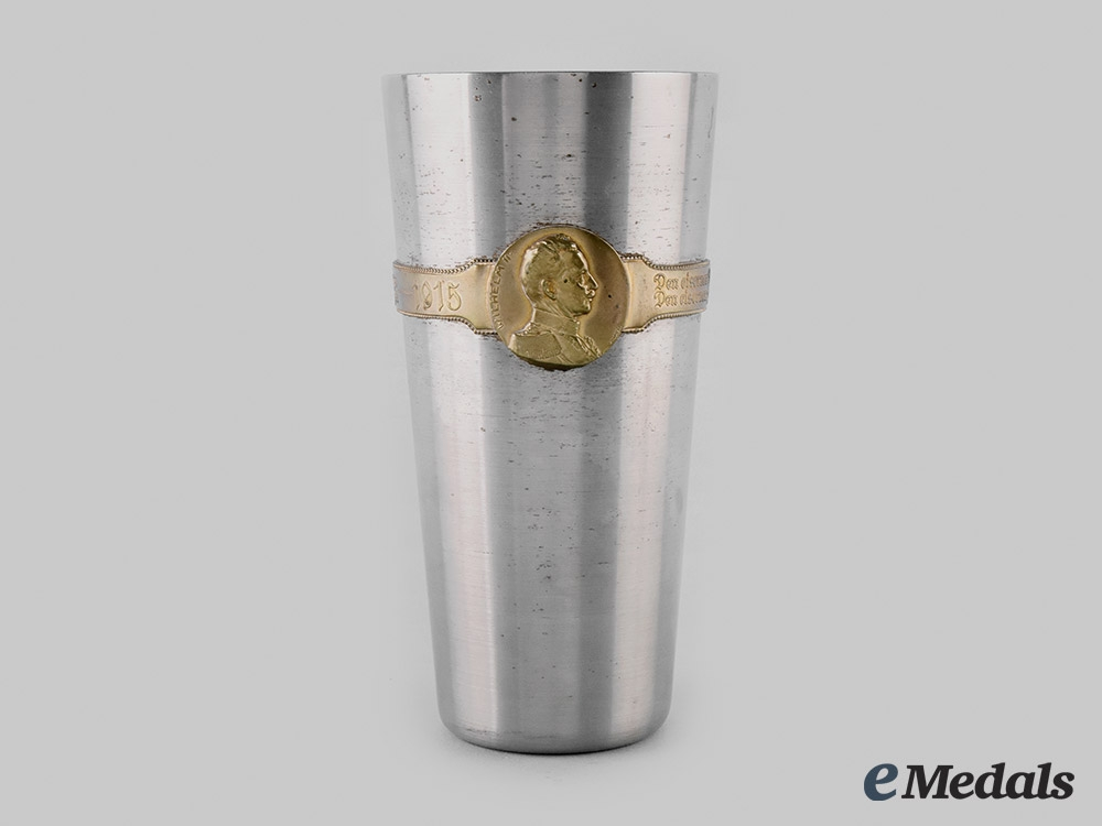 """eMedals-Germany, Imperial. A Patriotic """"Iron Cup"""", c.1915"""
