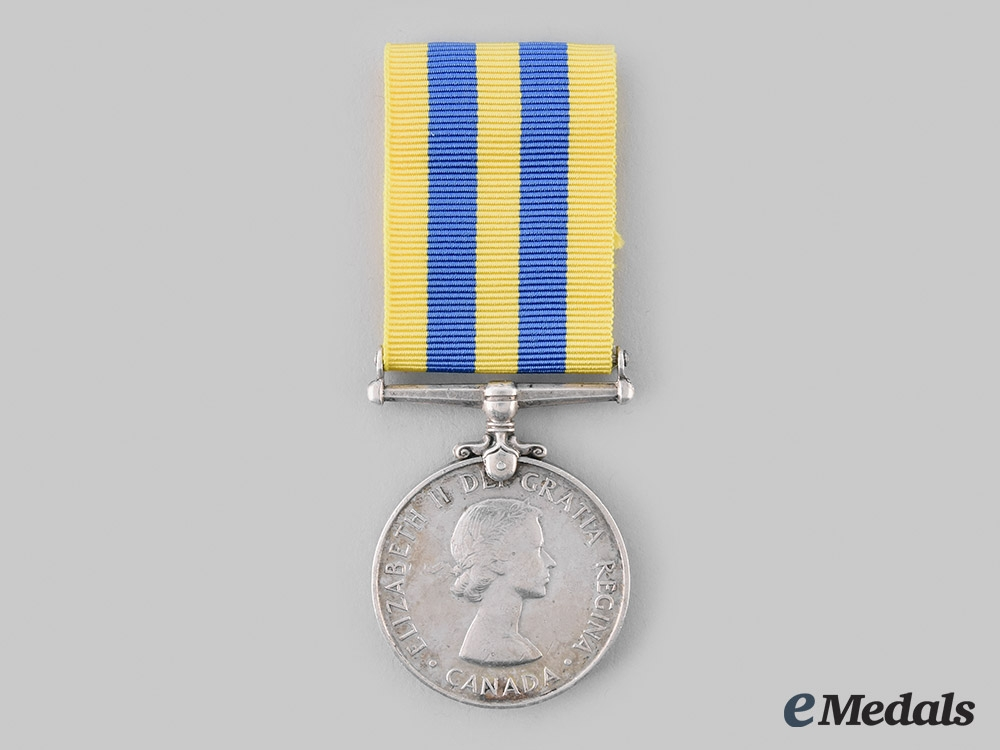 eMedals-Canada, Commonwealth. A Korea Medal 1950-1953, to R.E. Mills
