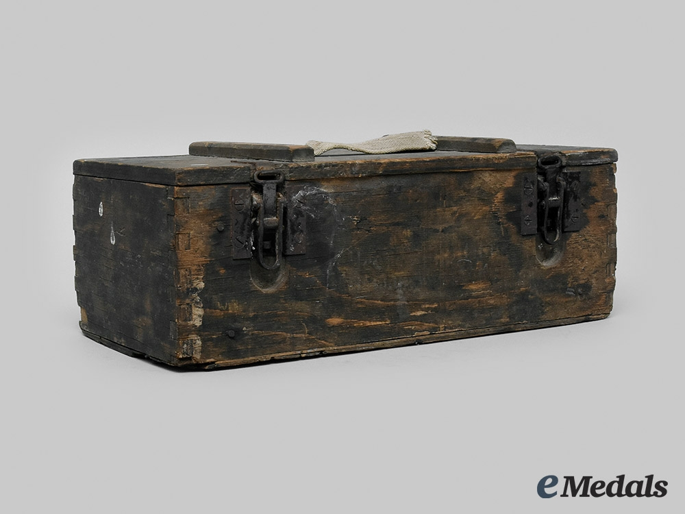 eMedals-Germany, NSDAP. An Ammo Box Belonging to Arthur Seyß-Inquart