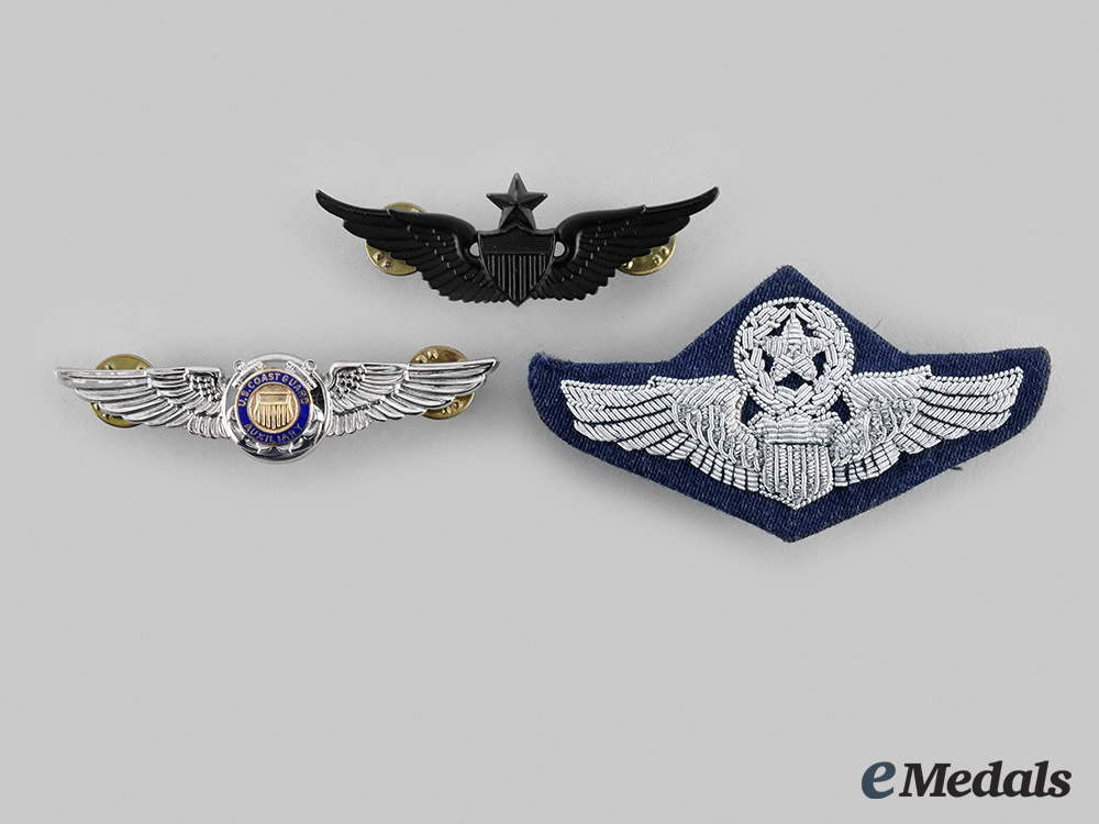eMedals-United States. Three Wings
