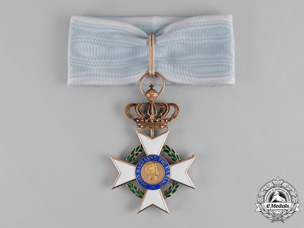 eMedals-Greece, Kingdom. An Order of the Redeemer in Gold, Commander Cross, c.1840