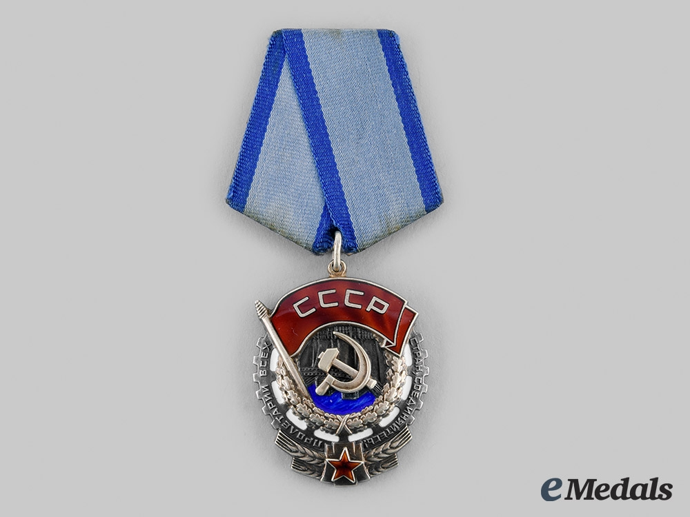 eMedals-Russia, Soviet Union. An Order of the Red Banner of Labour, Type 6