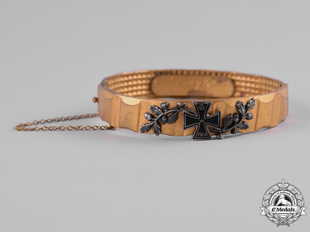 eMedals-Germany, Imperial. A First War Imperial German Army Bracelet