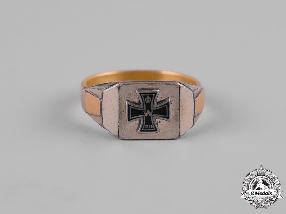 eMedals-Germany, Imperial. A First War Commemorative Ring