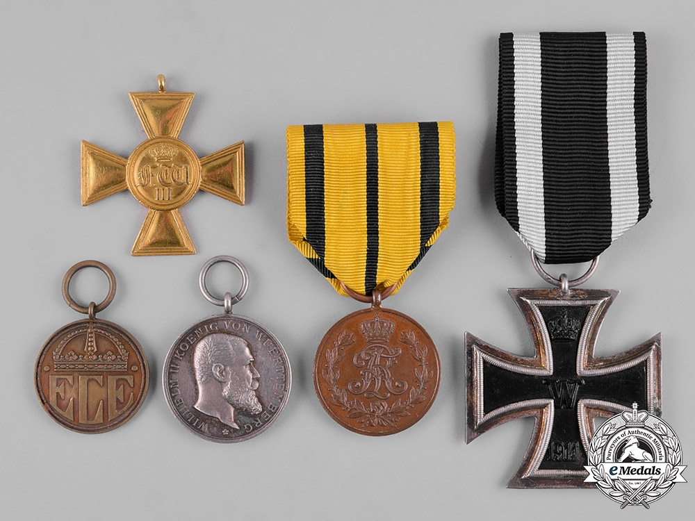 eMedals-Germany, Imperial. A Lot of Imperial German Medals