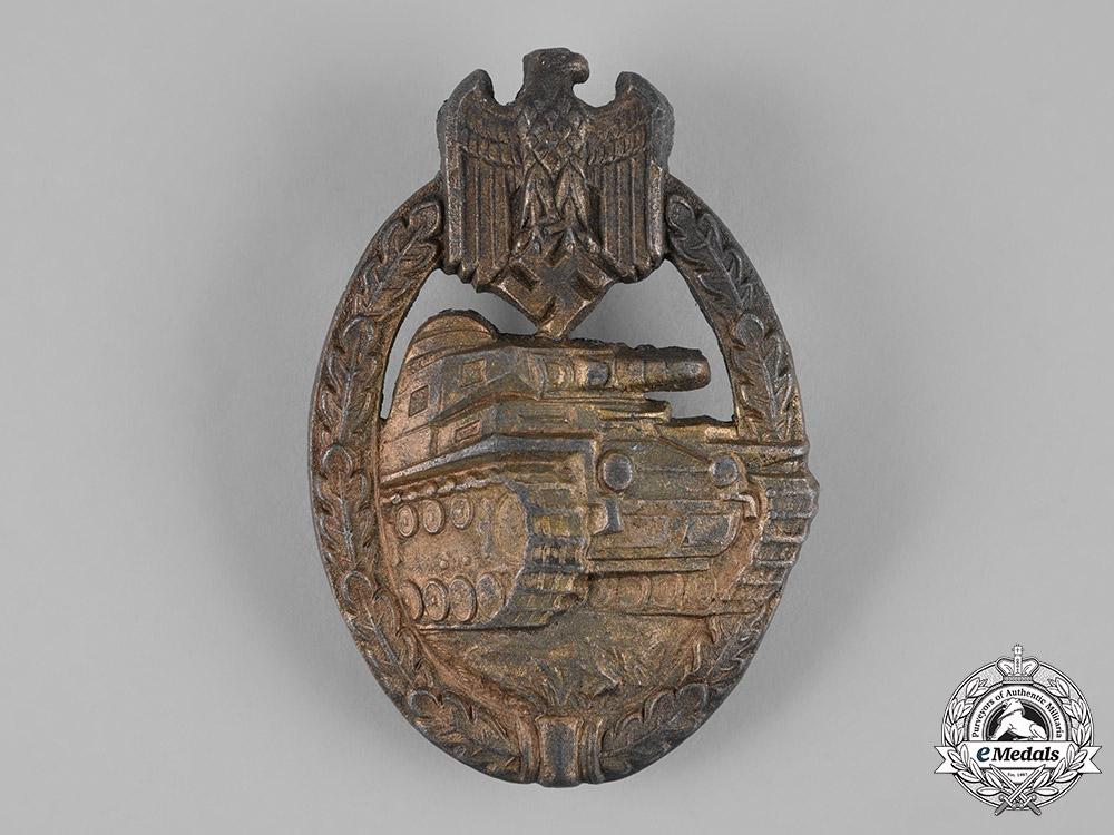 eMedals-Germany, Heer. A Panzer Assault Badge, Bronze Grade