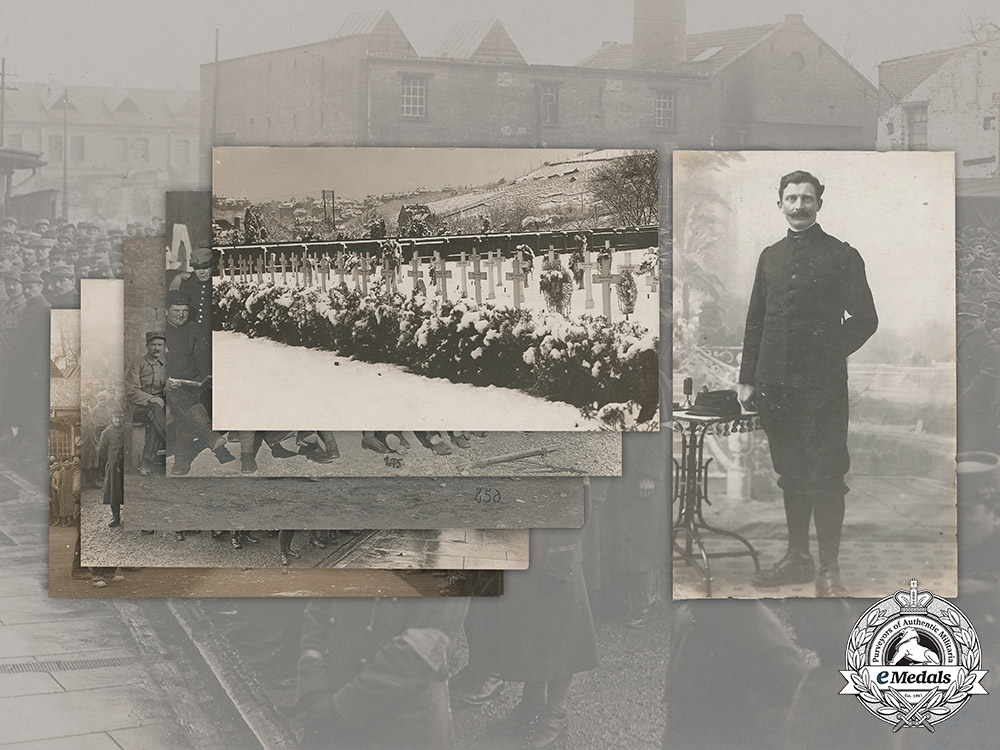 eMedals-Germany, Imperial. A Lot of Stuttgart POW Camp Postcards Featuring French Prisoners