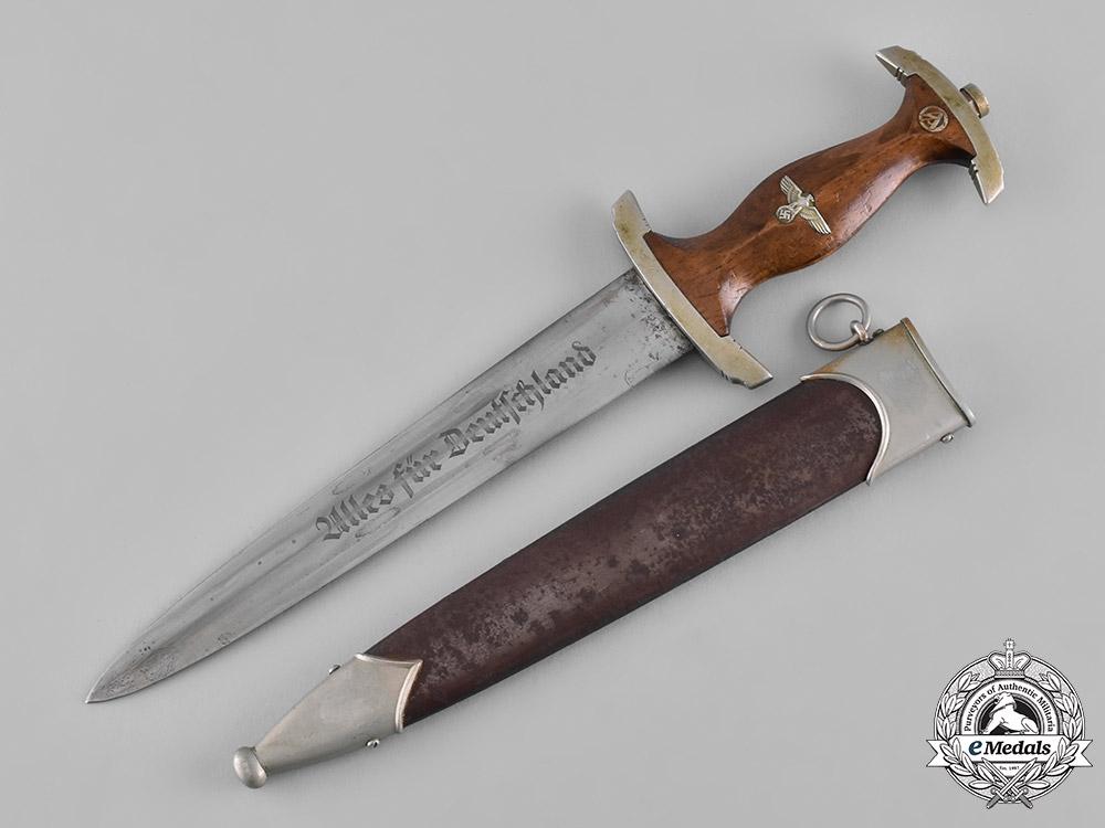 eMedals-Germany, SA. A Sturmabteilung (SA) Dagger, by Tigerwerk Lauterjung & Co.