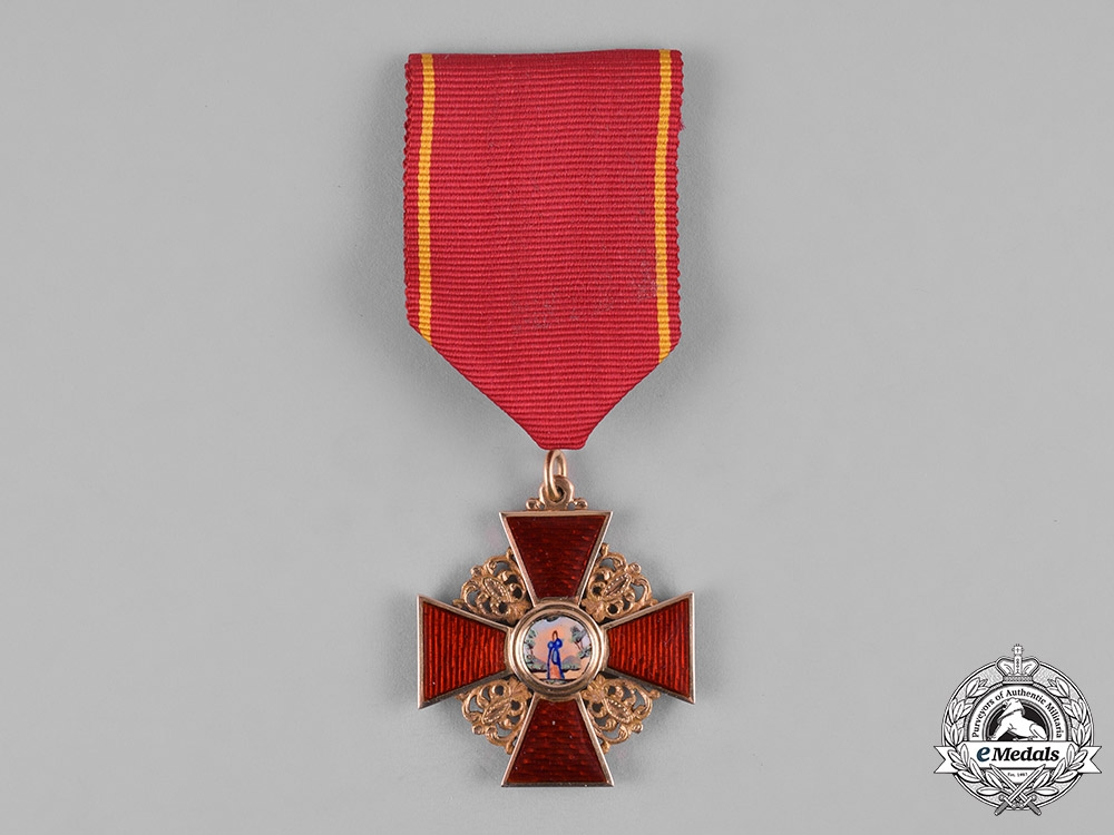 eMedals-Russia, Imperial. An Order of St. Anne, III Class, c.1855