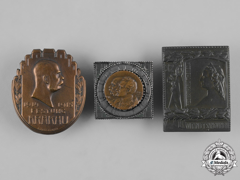 eMedals-Austria, Imperial. A Lot of First War Period Badges