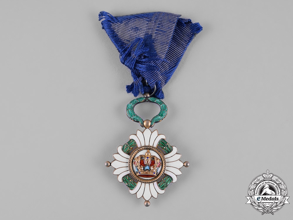 eMedals-Yugoslavia, Kingdom. An Order of the Crown, V Class Knight, c.1940