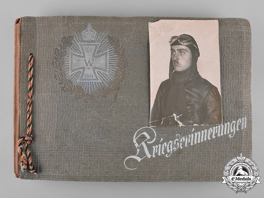 eMedals-Germany, Imperial. A Private Wartime Photo Album Of Pilot, Ace & Honour Goblet Winner NCO Steudel