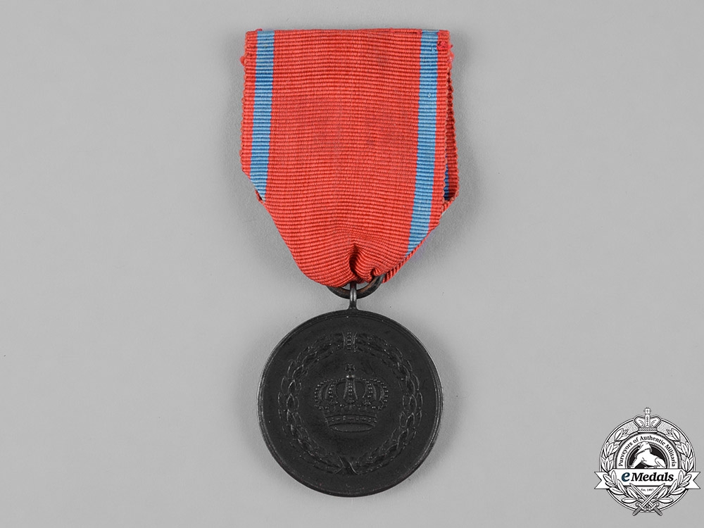 eMedals-Württemberg, Kingdom.  A Long Service Decoration, III Class Iron Medal for 9 Years