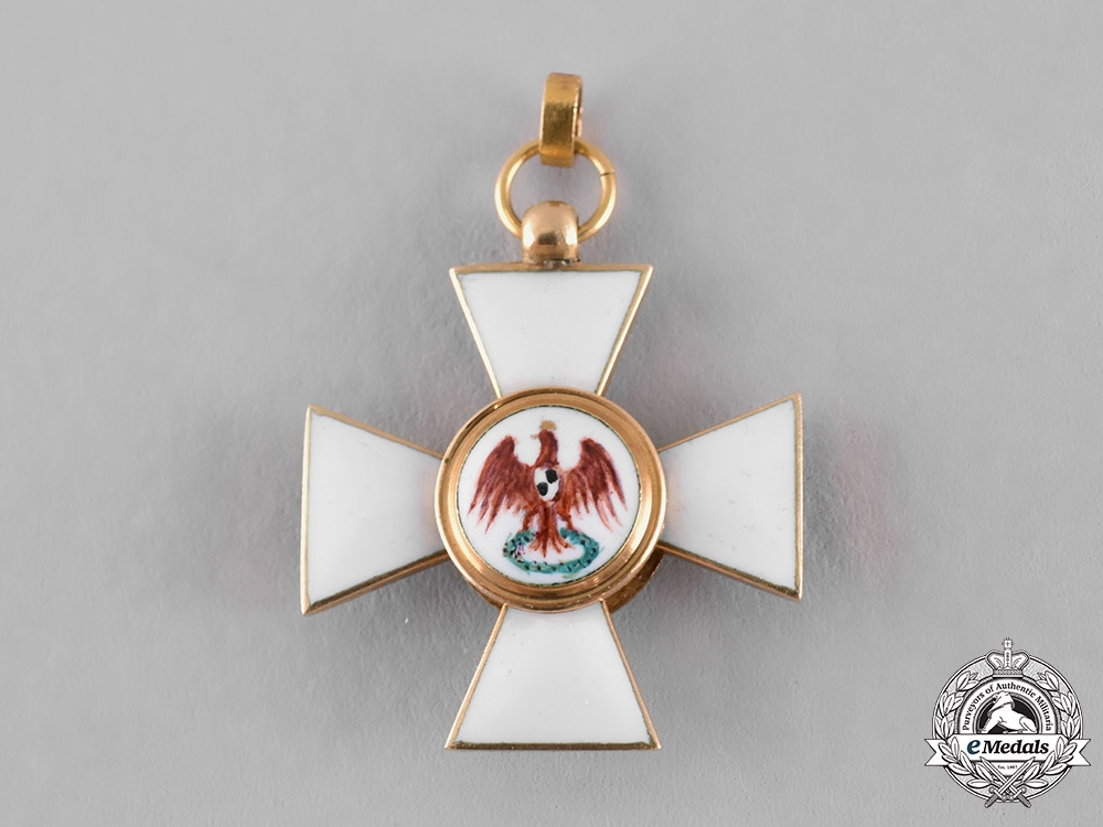eMedals-Prussia, State. An Order of the Red Eagle in Gold, Miniature, c.1900