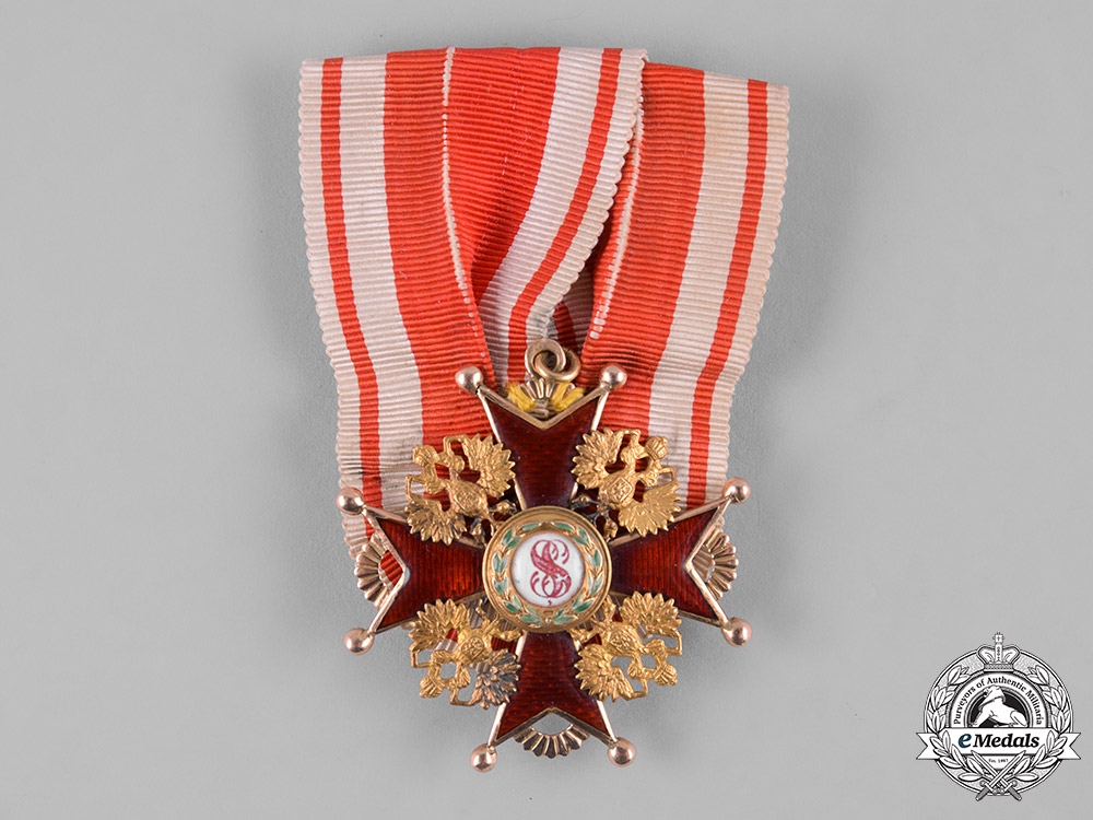 eMedals-Russia, Imperial. An Order of Saint Stanislaus, IV Class, by Aleksandr Romanov, c.1900