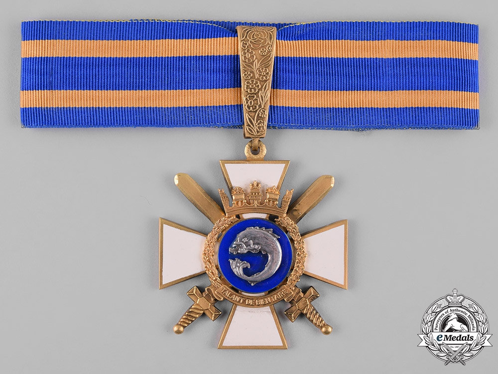 eMedals-Portugal, Republic. An Order of Naval Merit, Commander