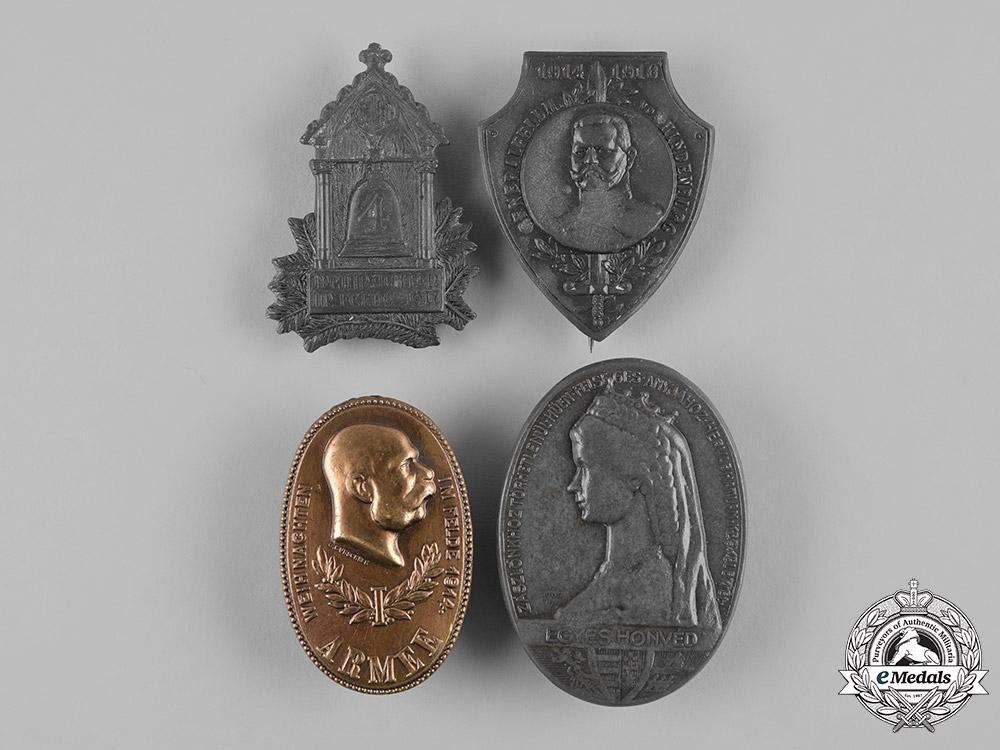 eMedals-Austria, Empire. Four First War Badges