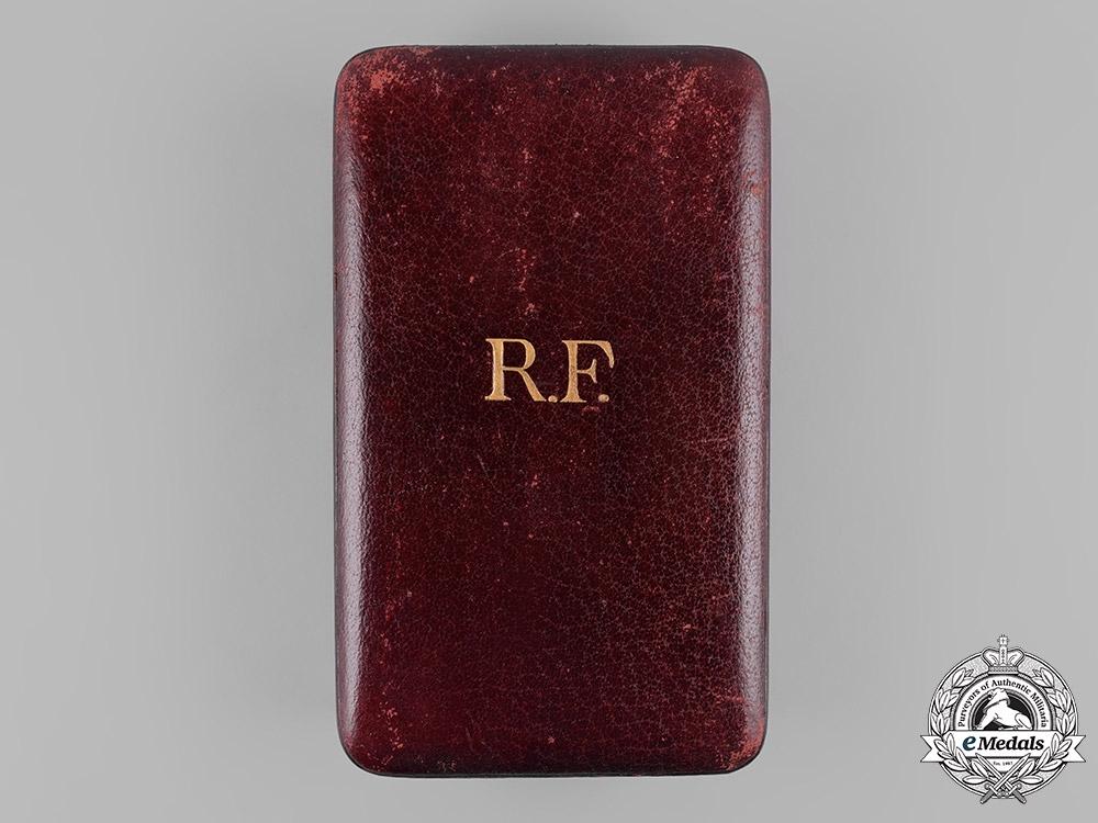 eMedals-France, III Empire. A Legion of Honour, I Class Grand Cross Case, c.1900