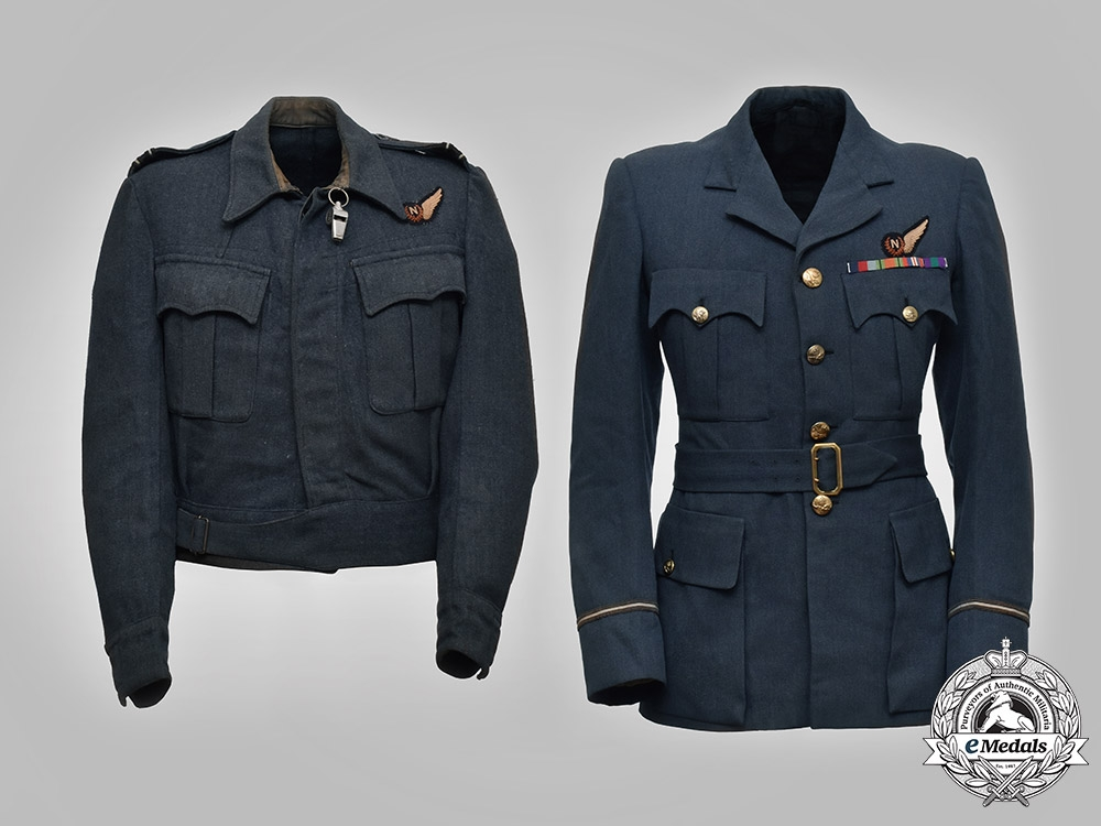 eMedals-United Kingdom, Canada. A Tunic Group to Flight Lieut. Loftus, No. 83 Squadron Royal Air Force/RAFVR