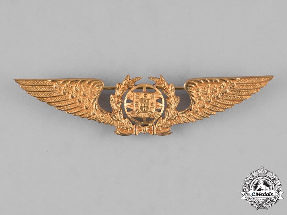 eMedals-Portugal, Republic. An Air Force Pilot Badge, c.1960