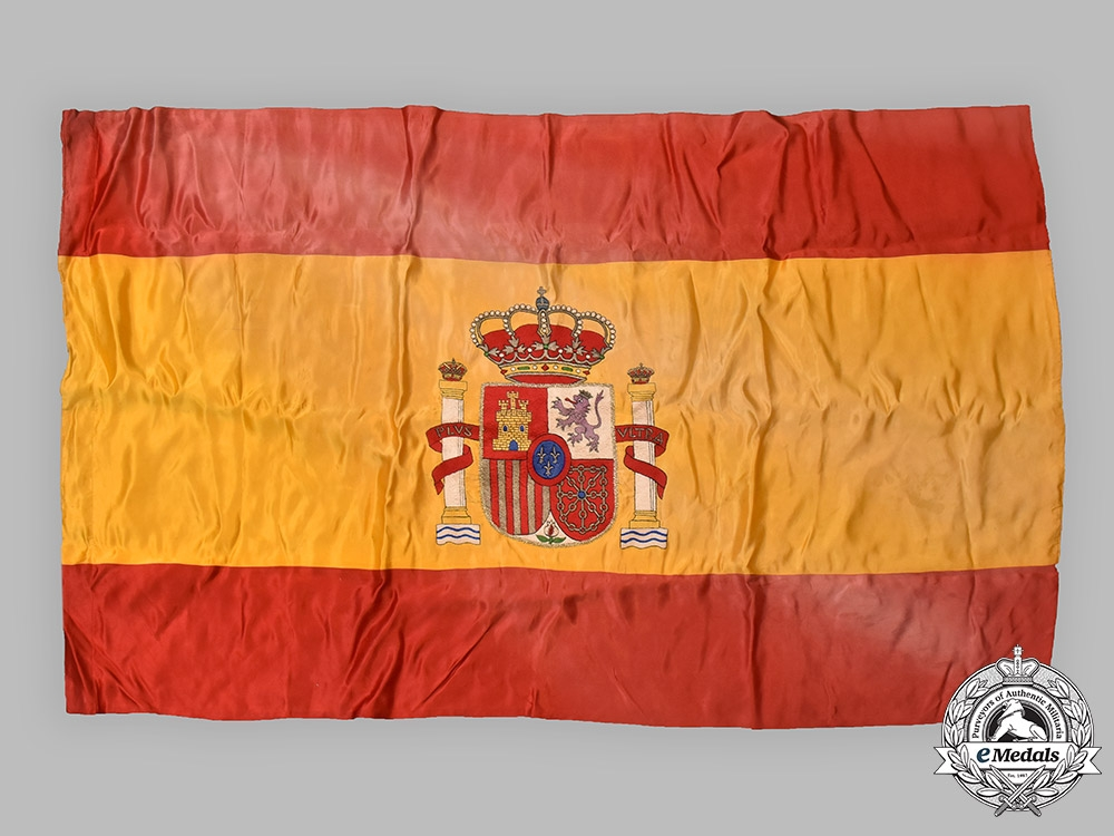eMedals-Spain, Fascist State. A Flag of the Nationalists during the Spanish Civil War, c.1938