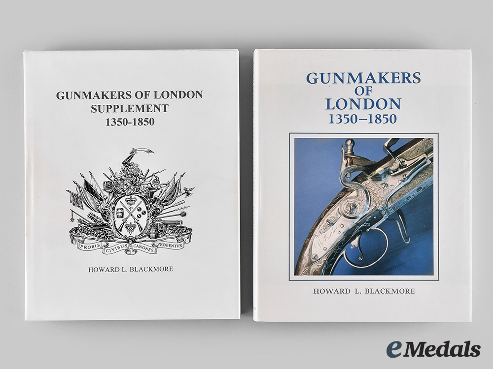 eMedals-United Kingdom. Gunmakers of London: 1350-1850, with Supplement, by Howard L. Blackmore