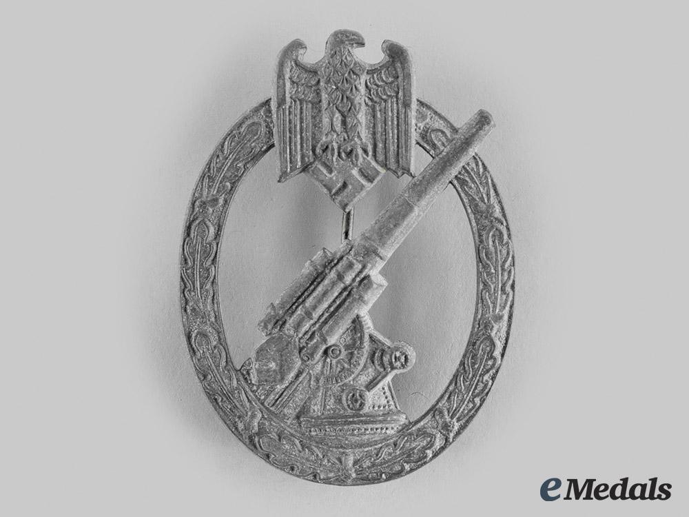 eMedals-Germany, Heer. A Flak Badge, by Wilhelm Hobacher